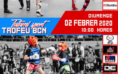 TROFEO BCN DE KICK BOXING 2 de febrer 2020