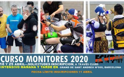 CURSO MONITORES 2020