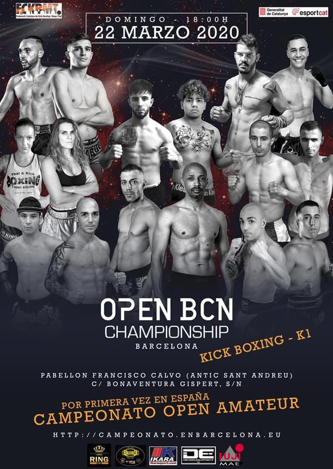 Open_BCN_k1 kickboxing fckbmt 2020
