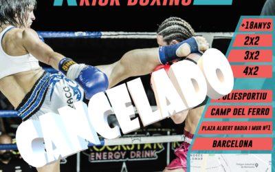 Cancelada la  XXIX Edició Campionat Catalunya Kick-Boxing/K1 2020