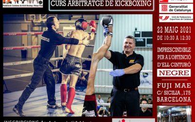 Curs Arbitratge de Kick-Boxing 2021