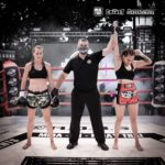 Proclamació guanyadora combat femení